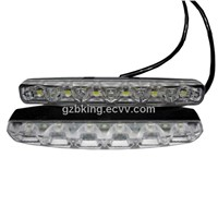 New 12-24V High Power 6 LEDs DRL