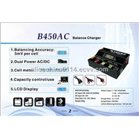 New coming B450AC balance charger for 1-4s lithium battery packs