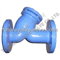 PN16 Cast Iron Flanged Y Strainer / Filter
