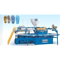 PVC air blow slipper making machine