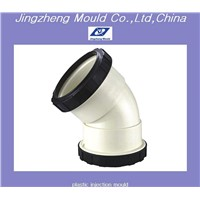 PVC pipe fitting elbow mould