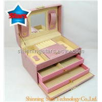 Pink Paper Jewellery Packaing Boxes