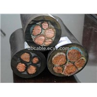 Rubber insulation cable