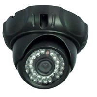 SONY CCD plastic Dome Camera for Home Security