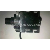Speed adjustable 12V 3-Phase Brushless DC Pump High temp DC50E-1280 For water pumping circulation