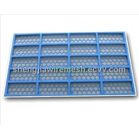 Steel frame screen