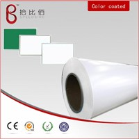 WHITE PVC FILM COATED METAL SHEET for teaching board