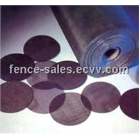 Black Wire Mesh /Black Wire Cloth (Anping Factory )