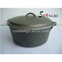 cast iron dutch oven(SR056)