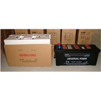 dry charged N120 12v 120Ah car battery