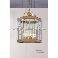 european style pendant lights ,Copper Chandelier, brass hanging ceiling light