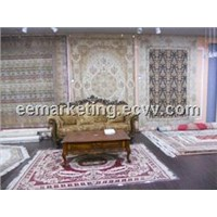 Good Price Supply Fine Quality Wool and Silk High Quality Carpet Hand Knotted Accept Order Now