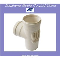 pp plastic tee pipe fitting mould