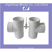 pvc tee pipe fitting mould