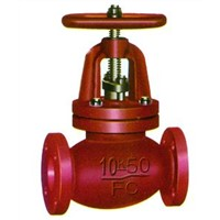 screw-down check globe valve