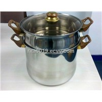 stainless steel couscous pot