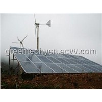 wind and solar hybrid system home use,wind and solar generation power system