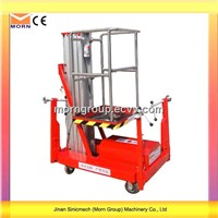 Aluminum Alloy Lift Model TAM0.15-4 (Stainless Steel Guardrail, 5.7m Work Height, 150kg Load)
