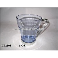 glass cup with ss EW12302