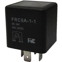 Automotive Relays with 150A contact rating, Plug in terminal and High temperature design