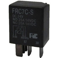 Automotive Relays with 35A contact rating and Ideal use for control car