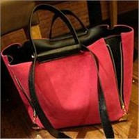 Korean Version of the New Influx of Female Package Matte Leather Shoulder Bag