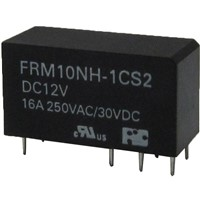 Power Relays with 16A switching capacity, Creepage distance 10mm and Miniature relay