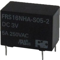 Power Relays with 5KV surge resistiveness and Subminiature light weight relay