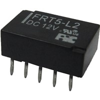 Signal Relays with Compact size & low profile, DIL pitch terminals and High sensitivity