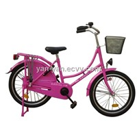 "20""Traditional oma bike/20""girl bicycle/kids cycle/city bike/omafiets"