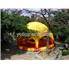 Commercial PVC Tarpaulin Inflatable Water Pools with Cover Tent for Water Ball and Paddle Boat