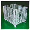 Folding wire mesh cage/storage box