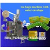 tea bags pack machine with outer envelope