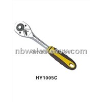 High Quanlity Double Color Handle Ratchet Wrench