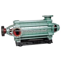 Horizontal centrifugal multistage pump for mining