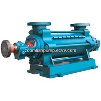 Horizontal multistage boiler feed pump