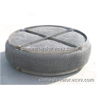 NO.1 Choice Monel Wire Mesh Demister, Monel Mist Eliminator From Anping Valor Mesh