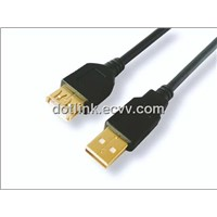 USB 2.0 Cable AM to AF