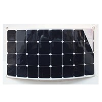 100w semi flexible bendable solar module