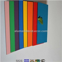 1250mm*3200mm hot sale size aluminium clad composite panel