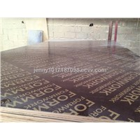 12-18mm film faced plywood for construction