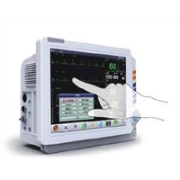 "12.1"" TFT color touchscreen patient monitor"