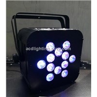 12*5in1 PAR Light / Wireless DMX Battery Powered LED PAR Can /  LED Stage Par Light