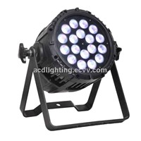 LED Stage Par Light, 18*4in1 10W LED Waterproof Par Light, Outdoor LED Par Can Light