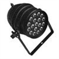 18pcs 4in1 RGBW 10W LED Stage Par Light, Full Color LED Strobe Light