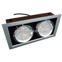 18W 2 Head LED Ceiling Light