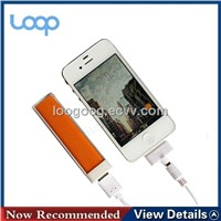 2,200mAh External Battery Charger Lipstick  0086-15937123163