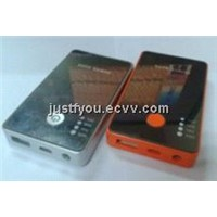 3000mAh Promotional Gifts Portable Mobile Power Pack for iPhone4 5