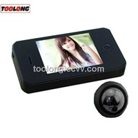 3.5inch TFT LCD Screen Door Viewer with Doorbell + Memory