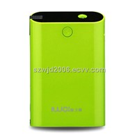 6600mAh External Power bank with Dual USB Charger for Smartphones and Tablet PC